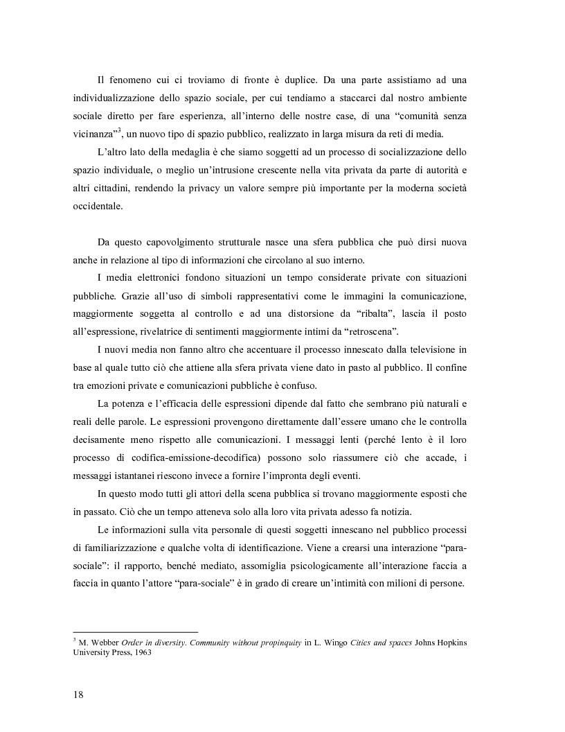 Anteprima della tesi: Da Bologna (io) a Bologna (noi). La democrazia e le nuove tecnologie della comunicazione, Pagina 9