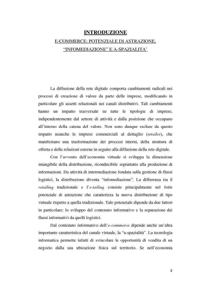Anteprima della tesi: Supermercati online: il caso Tesco.com, Pagina 3