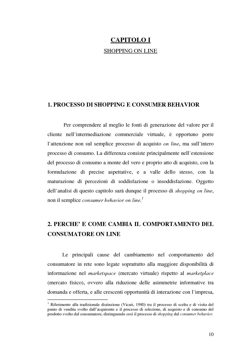 Anteprima della tesi: Supermercati online: il caso Tesco.com, Pagina 5