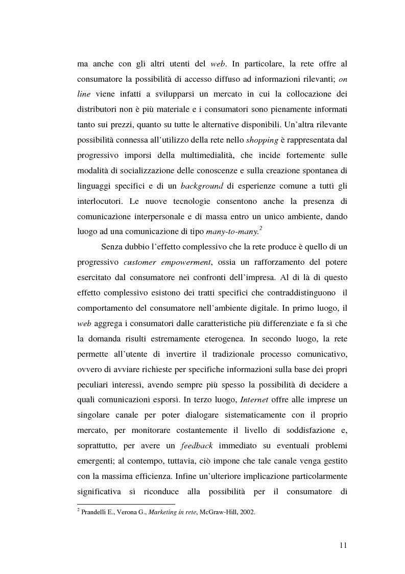Anteprima della tesi: Supermercati online: il caso Tesco.com, Pagina 6