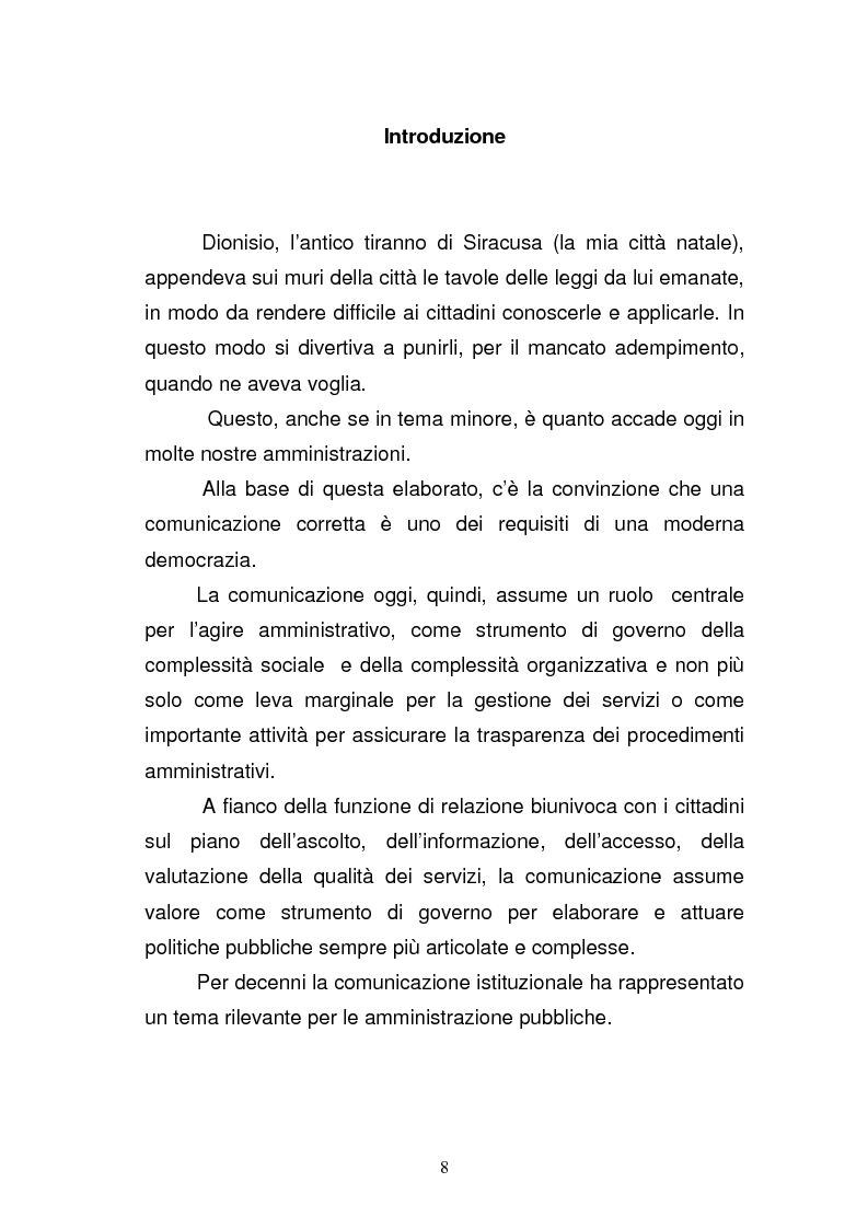 Anteprima della tesi: La Guardia di Finanza nell'era della comunicazione, Pagina 1