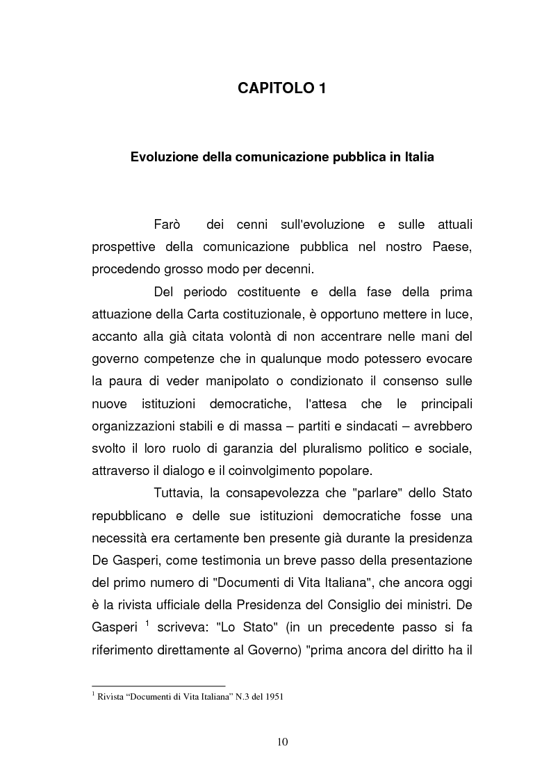 Anteprima della tesi: La Guardia di Finanza nell'era della comunicazione, Pagina 3