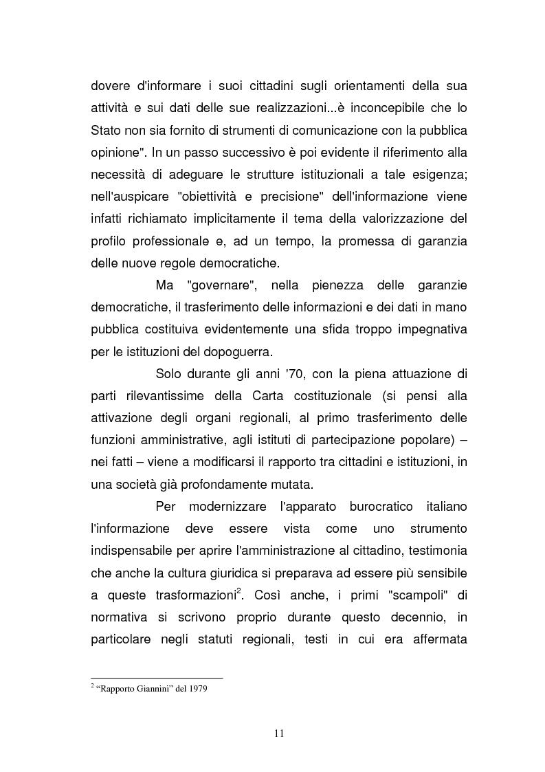 Anteprima della tesi: La Guardia di Finanza nell'era della comunicazione, Pagina 4