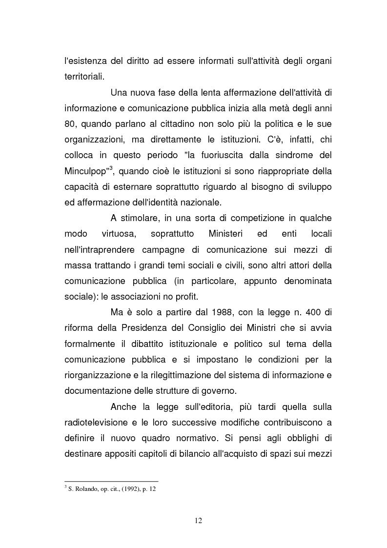Anteprima della tesi: La Guardia di Finanza nell'era della comunicazione, Pagina 5