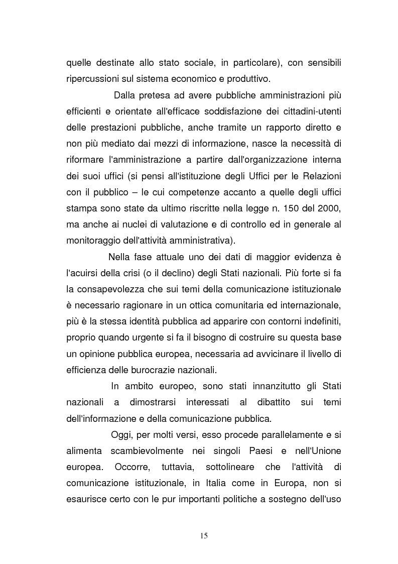 Anteprima della tesi: La Guardia di Finanza nell'era della comunicazione, Pagina 8