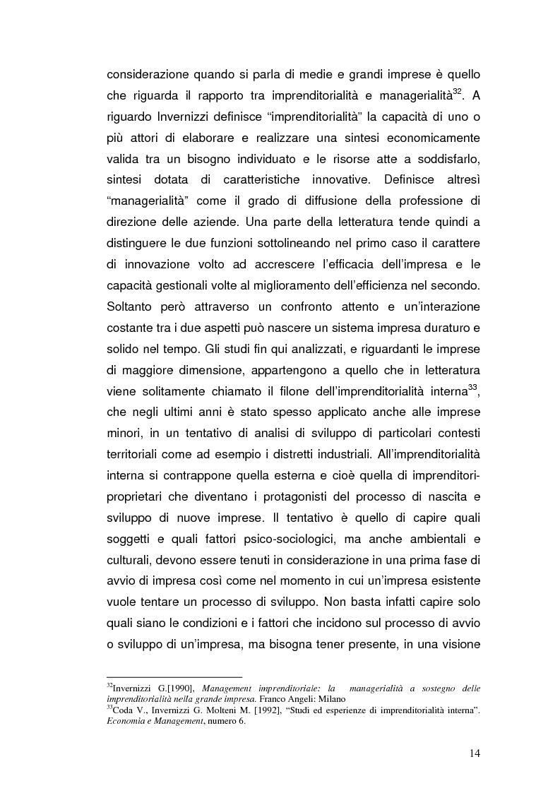Anteprima della tesi: Semplificazione amministrativa e diffusione dell'imprenditorialità, Pagina 11
