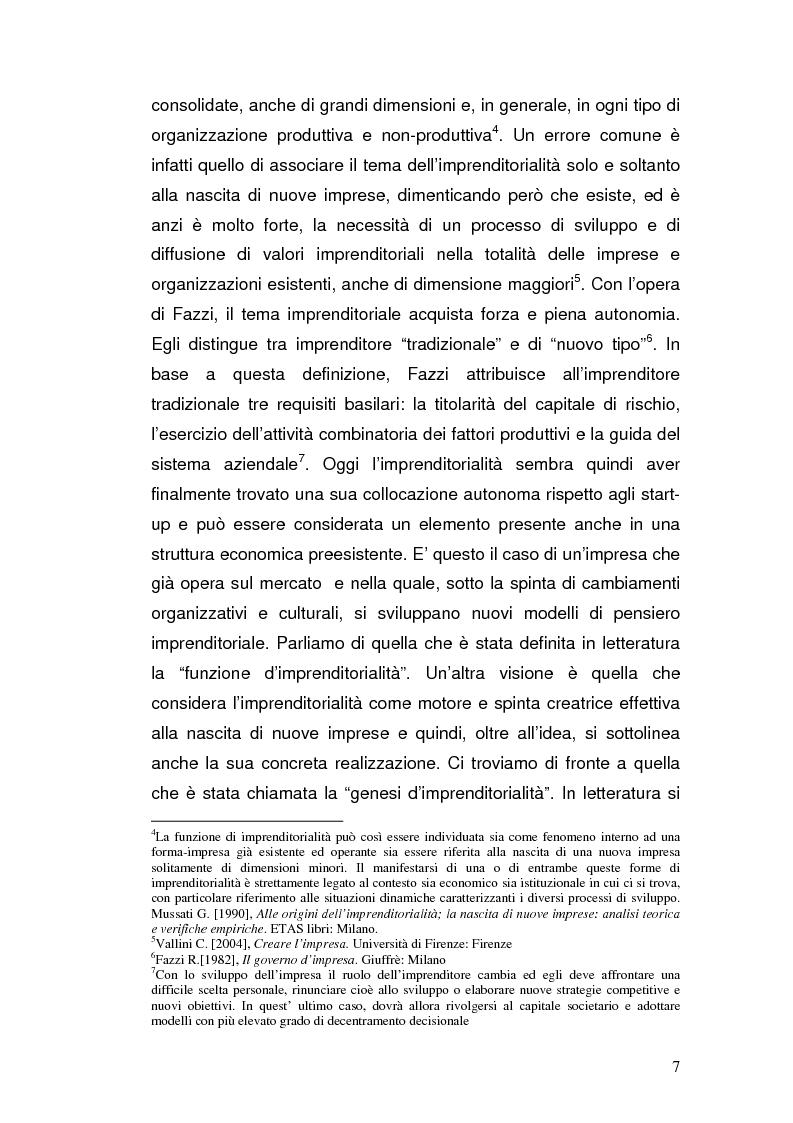 Anteprima della tesi: Semplificazione amministrativa e diffusione dell'imprenditorialità, Pagina 4