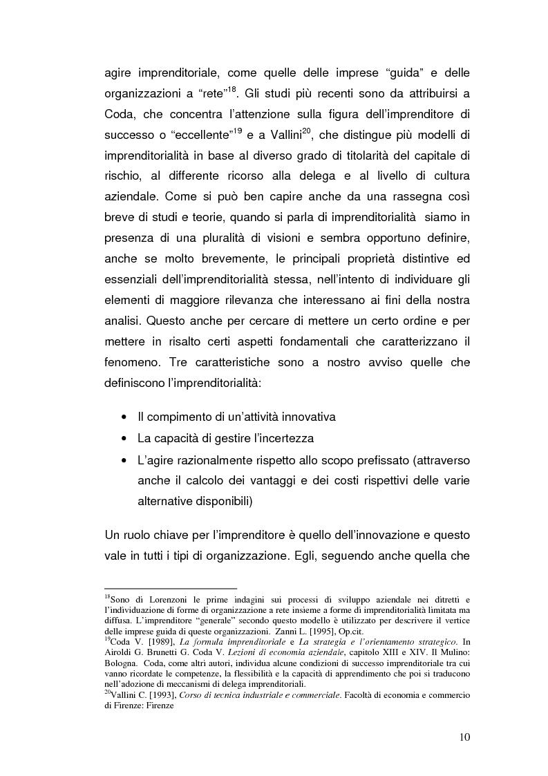 Anteprima della tesi: Semplificazione amministrativa e diffusione dell'imprenditorialità, Pagina 7