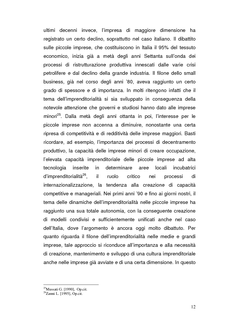 Anteprima della tesi: Semplificazione amministrativa e diffusione dell'imprenditorialità, Pagina 9