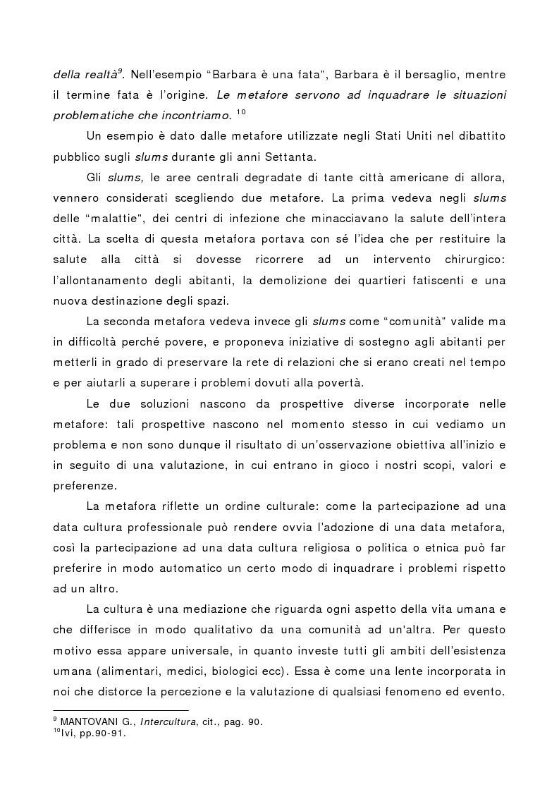 Anteprima della tesi: La società multiculturale: comprendere l'altro, Pagina 10