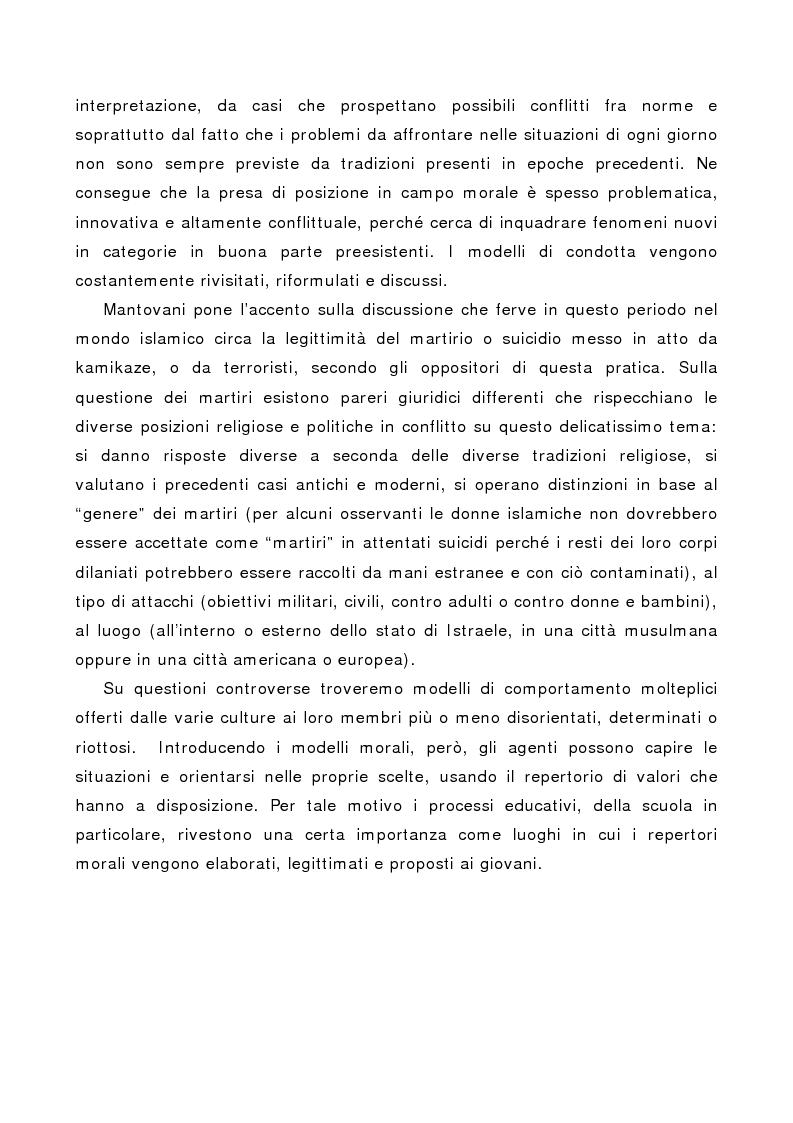 Anteprima della tesi: La società multiculturale: comprendere l'altro, Pagina 14