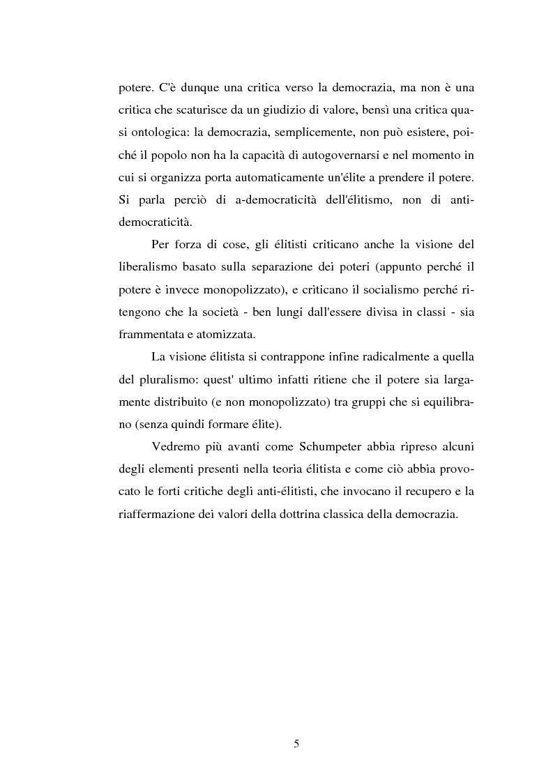 Anteprima della tesi: Schumpeter e la teoria competitiva della democrazia, Pagina 3