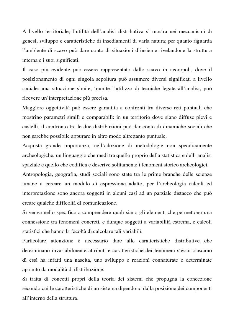 Anteprima della tesi: Le ville romane in Sardegna - Contributo dell'analisi spaziale alla ricerca, Pagina 2