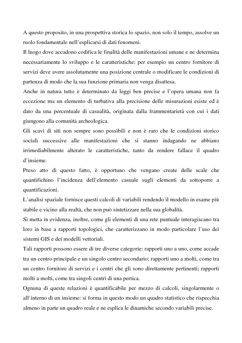 Anteprima della tesi: Le ville romane in Sardegna - Contributo dell'analisi spaziale alla ricerca, Pagina 3