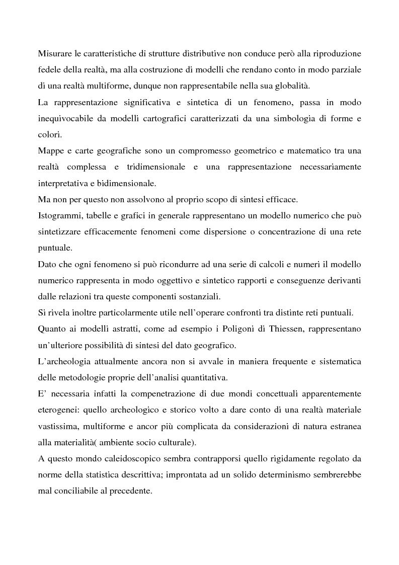 Anteprima della tesi: Le ville romane in Sardegna - Contributo dell'analisi spaziale alla ricerca, Pagina 4