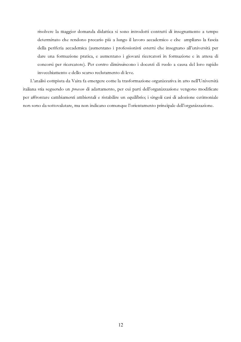 Anteprima della tesi: Università e Comunicazione: i casi di Ferrara e Pavia a confronto, Pagina 9