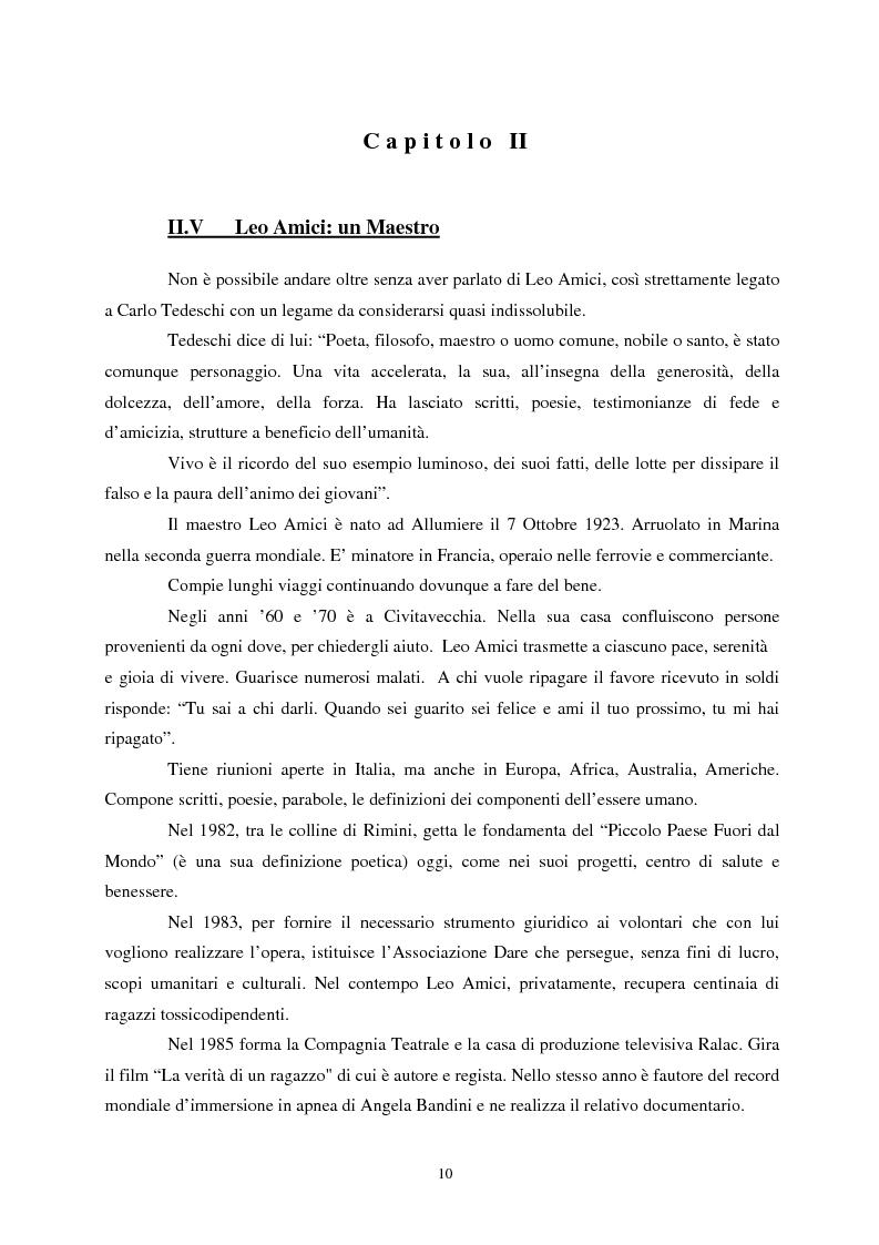 Anteprima della tesi: L'etica nell'arte di Carlo Tedeschi: le espressioni dell'anima, Pagina 10