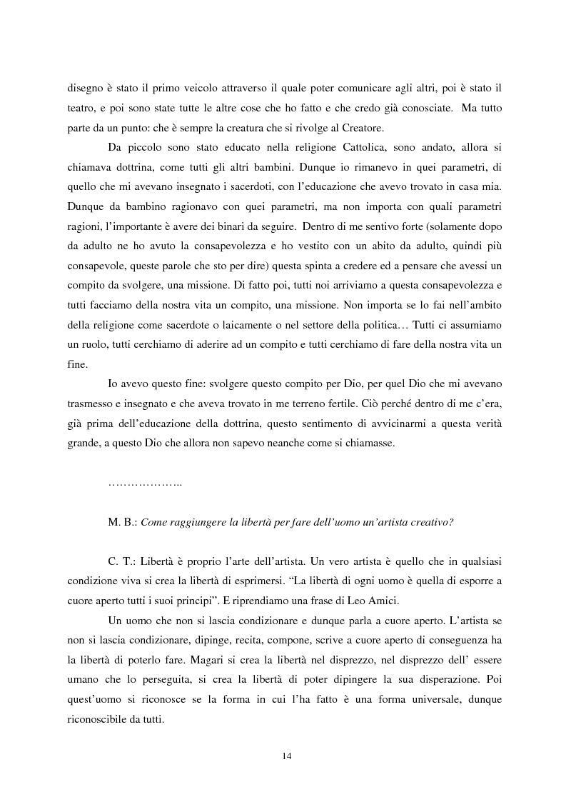 Anteprima della tesi: L'etica nell'arte di Carlo Tedeschi: le espressioni dell'anima, Pagina 14