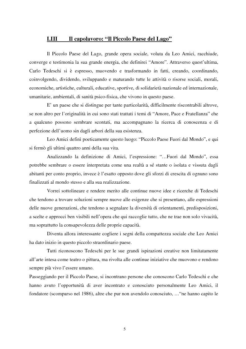 Anteprima della tesi: L'etica nell'arte di Carlo Tedeschi: le espressioni dell'anima, Pagina 5