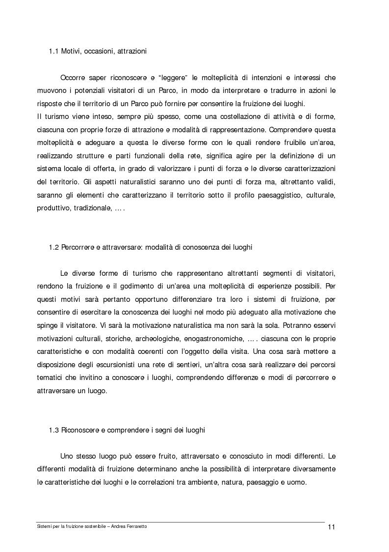 Anteprima della tesi: Sistemi per la fruizione sostenibile, Pagina 4