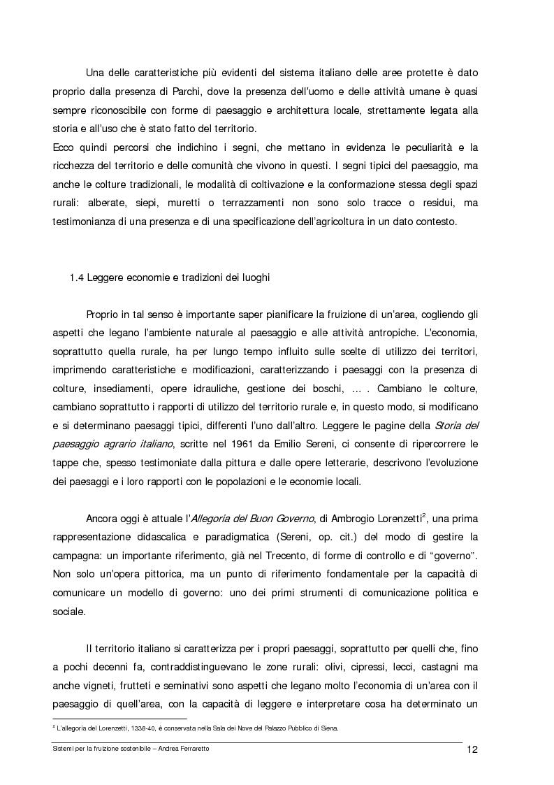 Anteprima della tesi: Sistemi per la fruizione sostenibile, Pagina 5