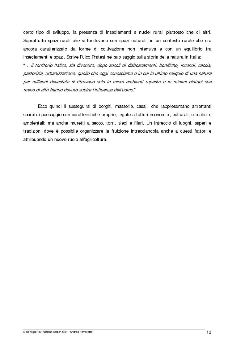 Anteprima della tesi: Sistemi per la fruizione sostenibile, Pagina 6