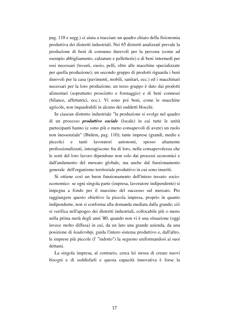 Anteprima della tesi: Mutamenti del lavoro tra dipendenza e autonomia. Un inquadramento teorico ed una ricerca in Emilia Romagna, Pagina 14