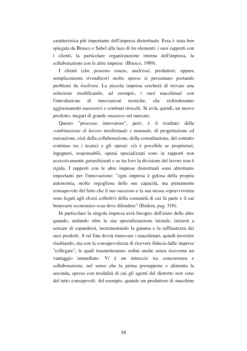 Anteprima della tesi: Mutamenti del lavoro tra dipendenza e autonomia. Un inquadramento teorico ed una ricerca in Emilia Romagna, Pagina 15