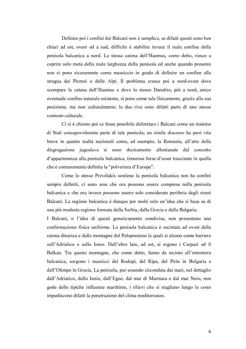 Anteprima della tesi: Il conflitto bosniaco. Fra confini e pulizia etnica., Pagina 5