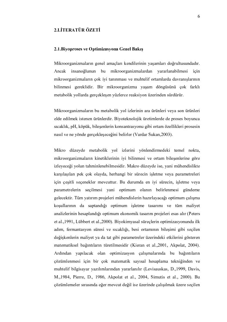 Anteprima della tesi: Random search optimizasyon algoritmasinin biyoproseslerde uygulanmasi, Pagina 4