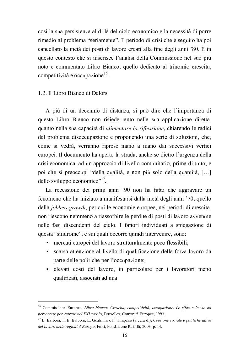 Anteprima della tesi: Le politiche del lavoro in un'ottica di genere, Pagina 10