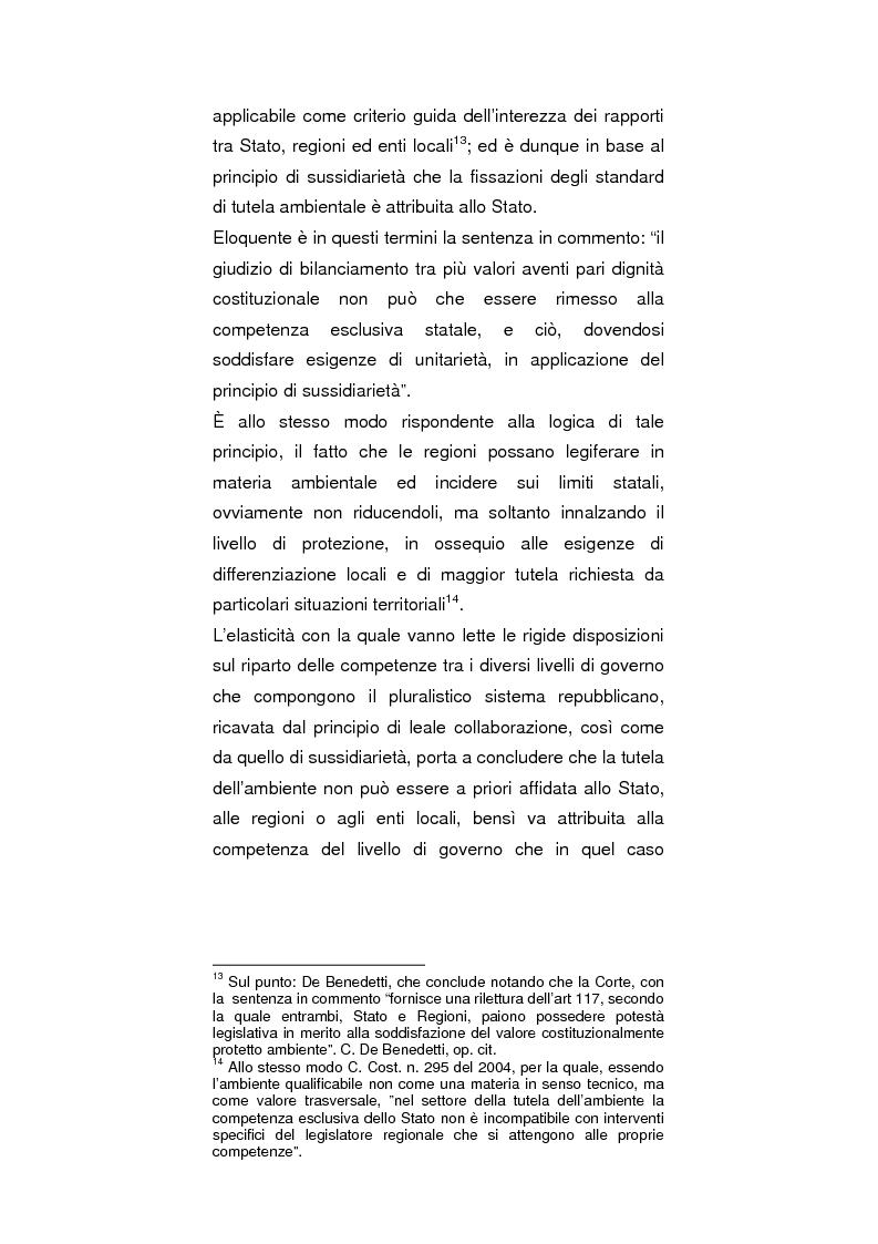 Anteprima della tesi: Regionalismo e protezione dell'ambiente nel dibattito sulla modifica del Titolo V della Costituzione, Pagina 5