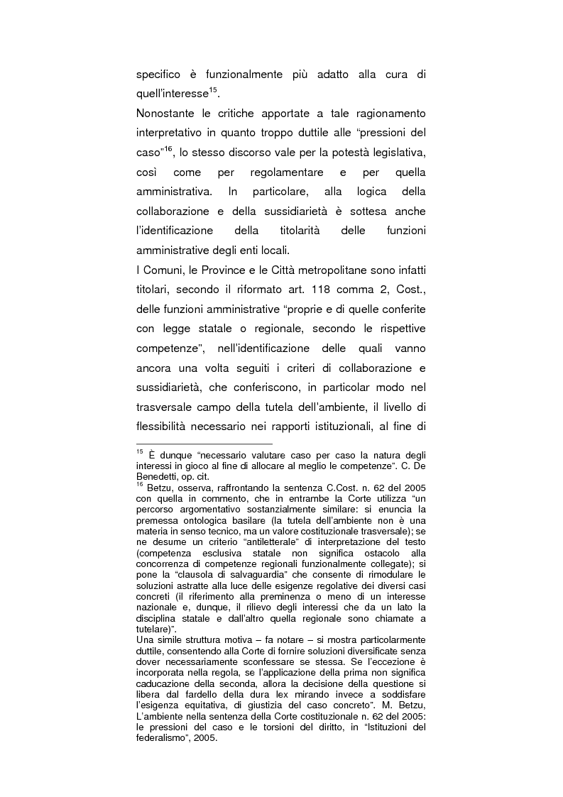Anteprima della tesi: Regionalismo e protezione dell'ambiente nel dibattito sulla modifica del Titolo V della Costituzione, Pagina 6