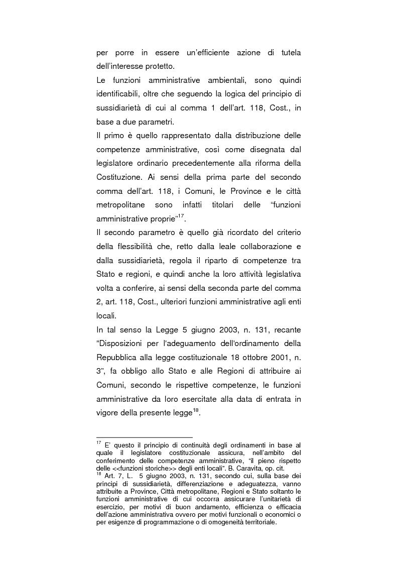 Anteprima della tesi: Regionalismo e protezione dell'ambiente nel dibattito sulla modifica del Titolo V della Costituzione, Pagina 7