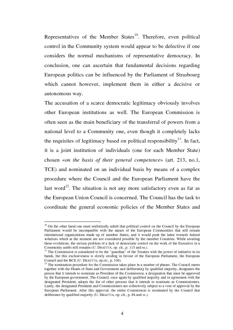 Anteprima della tesi: The Institutional Communication of the European Union, Pagina 6
