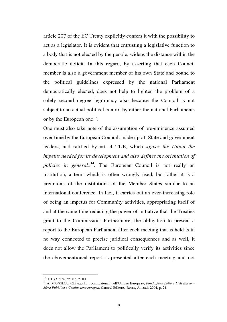 Anteprima della tesi: The Institutional Communication of the European Union, Pagina 7
