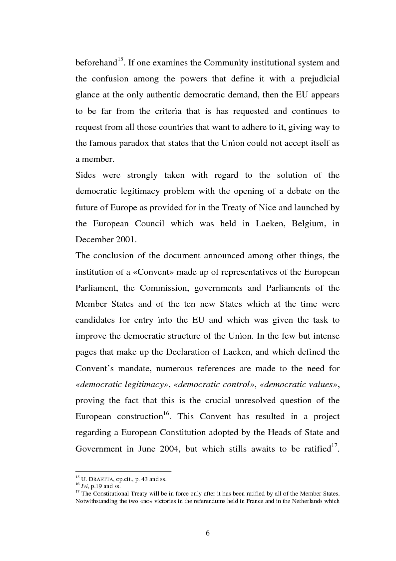 Anteprima della tesi: The Institutional Communication of the European Union, Pagina 8