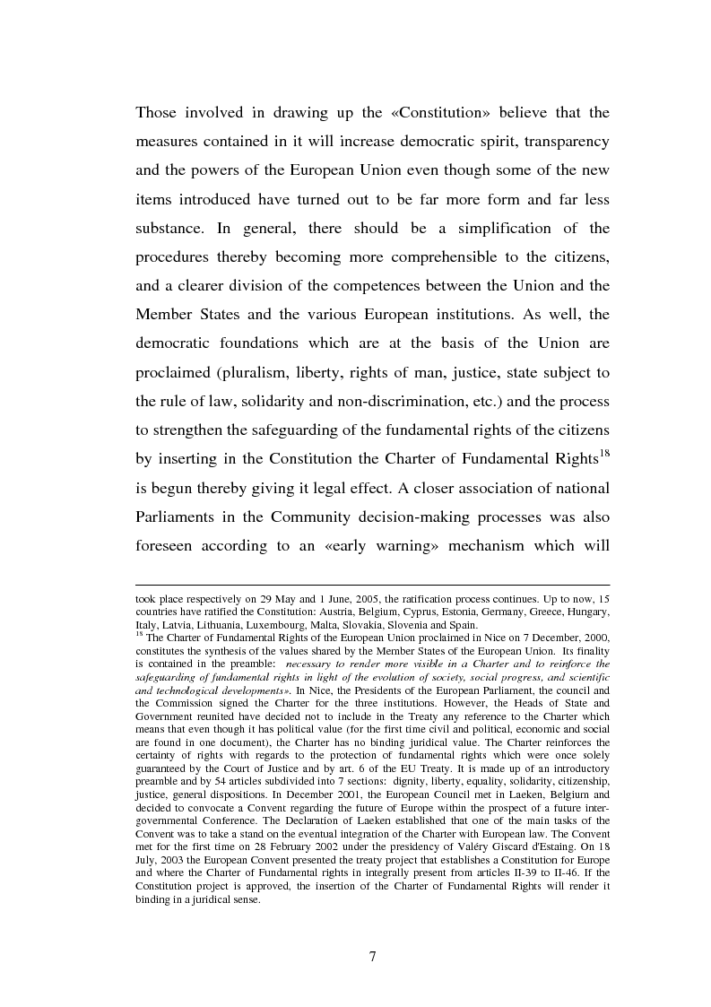 Anteprima della tesi: The Institutional Communication of the European Union, Pagina 9