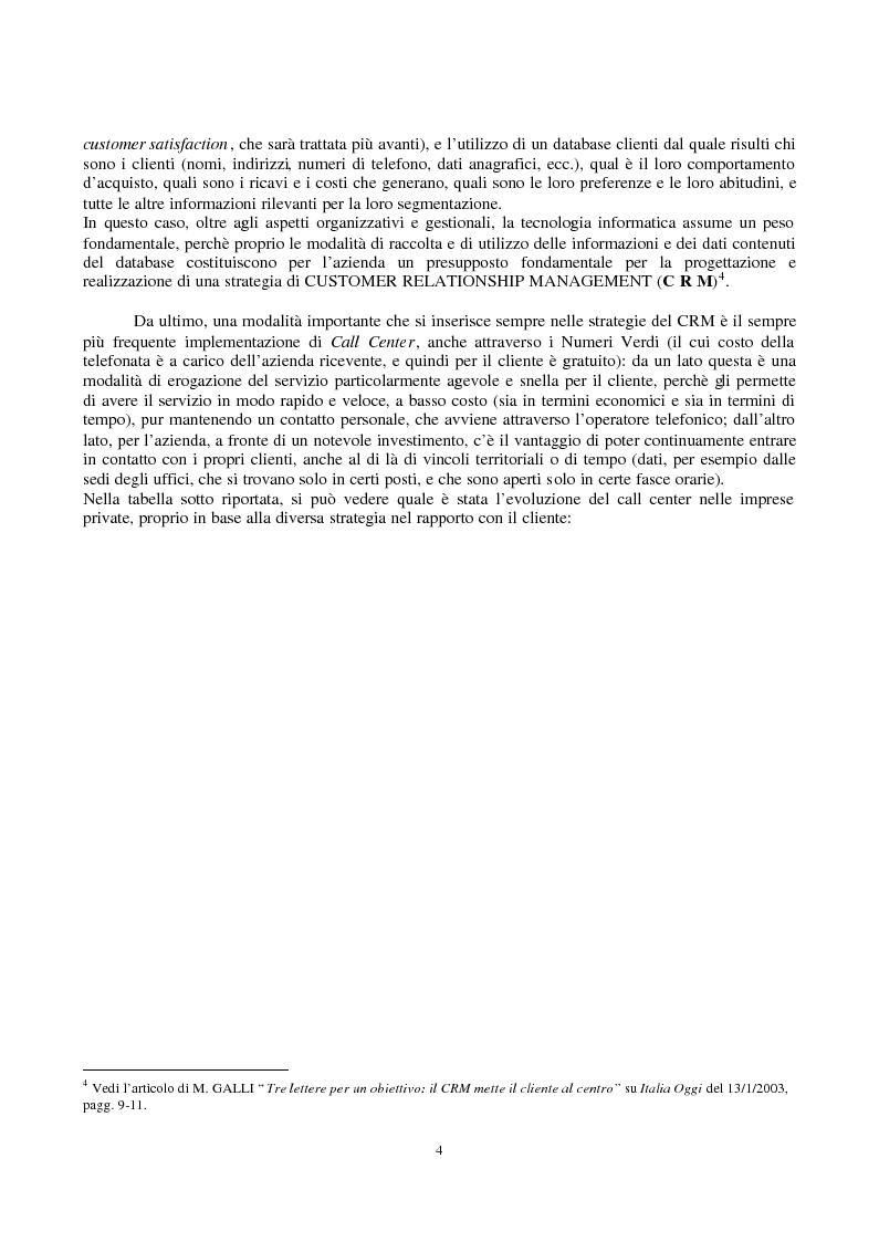 Anteprima della tesi: Crm e multicanalità, Pagina 2