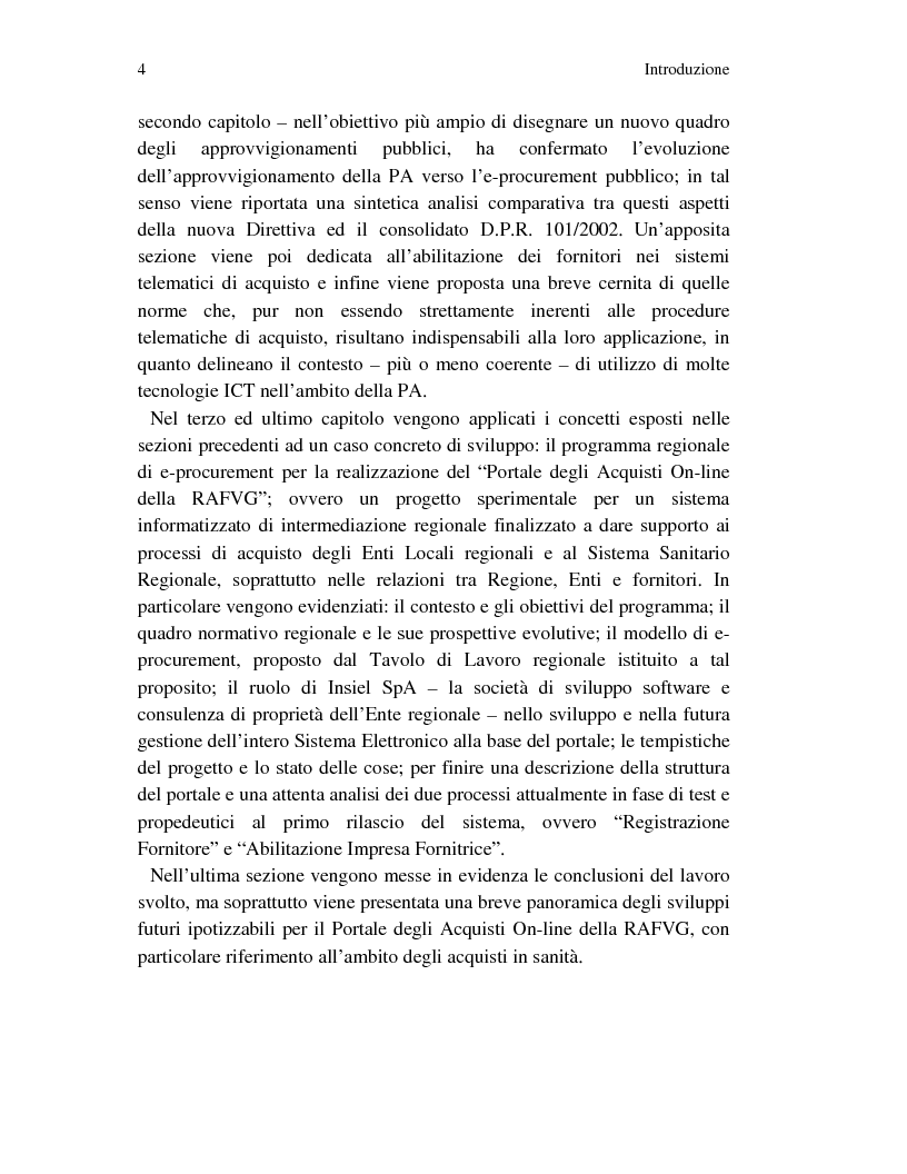 Anteprima della tesi: Metodi innovativi per l'acquisizione di tecnologie nelle aziende sanitarie pubbliche, Pagina 4