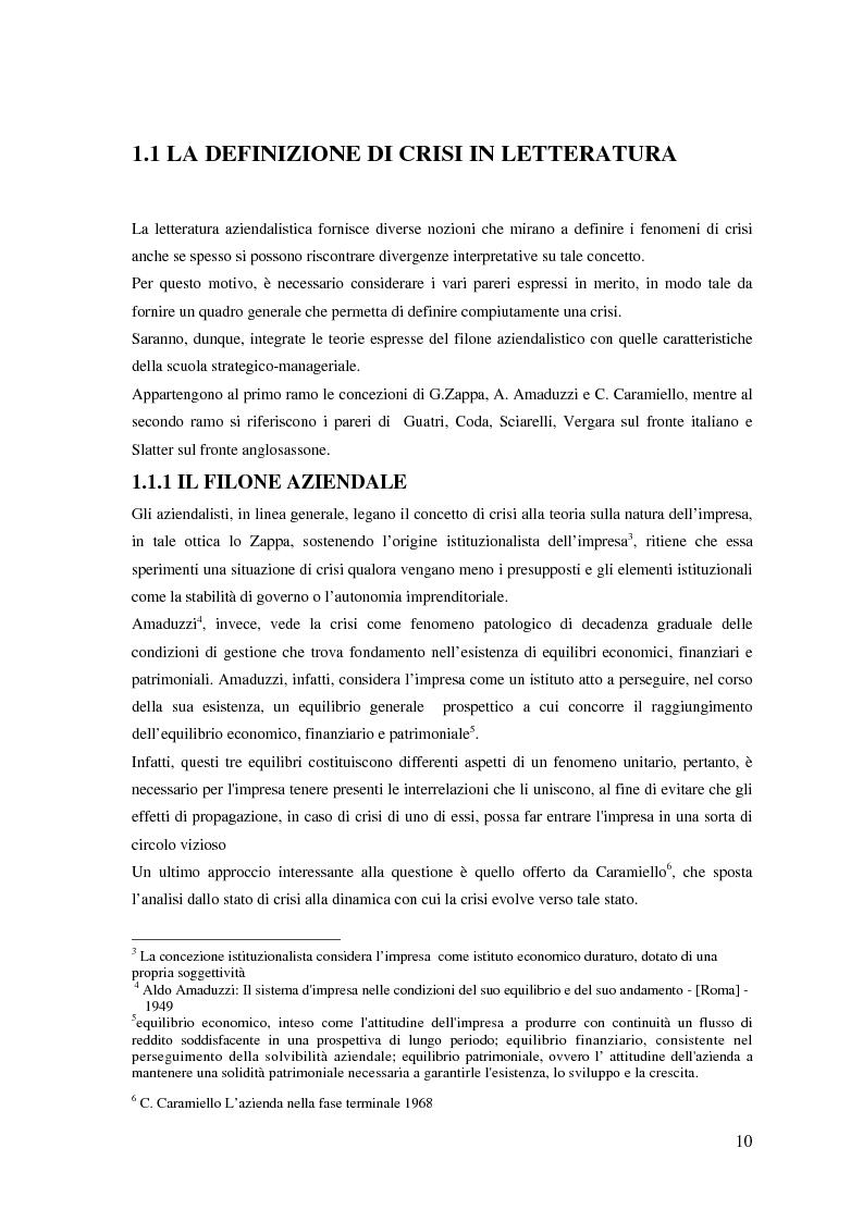 Anteprima della tesi: Fenomeni di crisi e ristrutturazione nel settore aereo: il caso Alitalia, Pagina 5