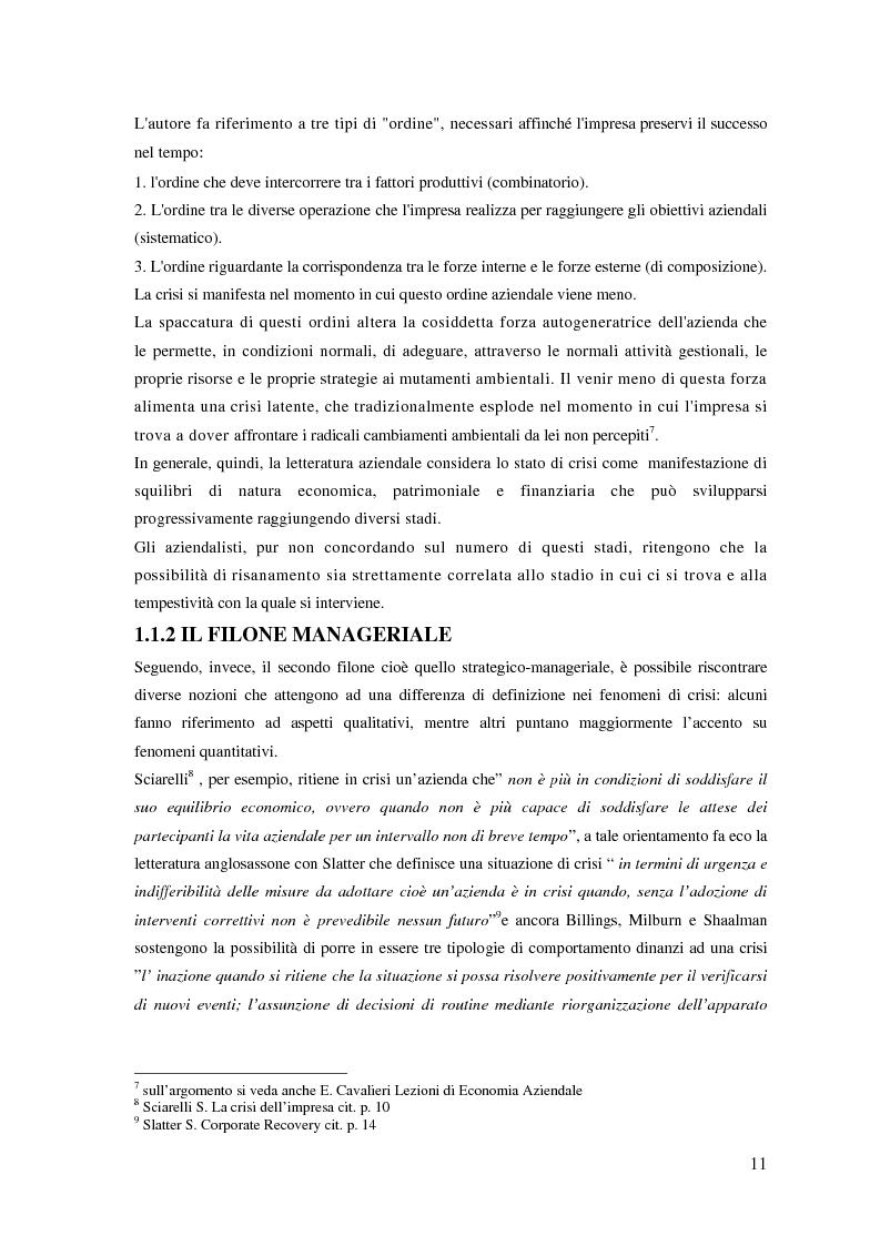 Anteprima della tesi: Fenomeni di crisi e ristrutturazione nel settore aereo: il caso Alitalia, Pagina 6