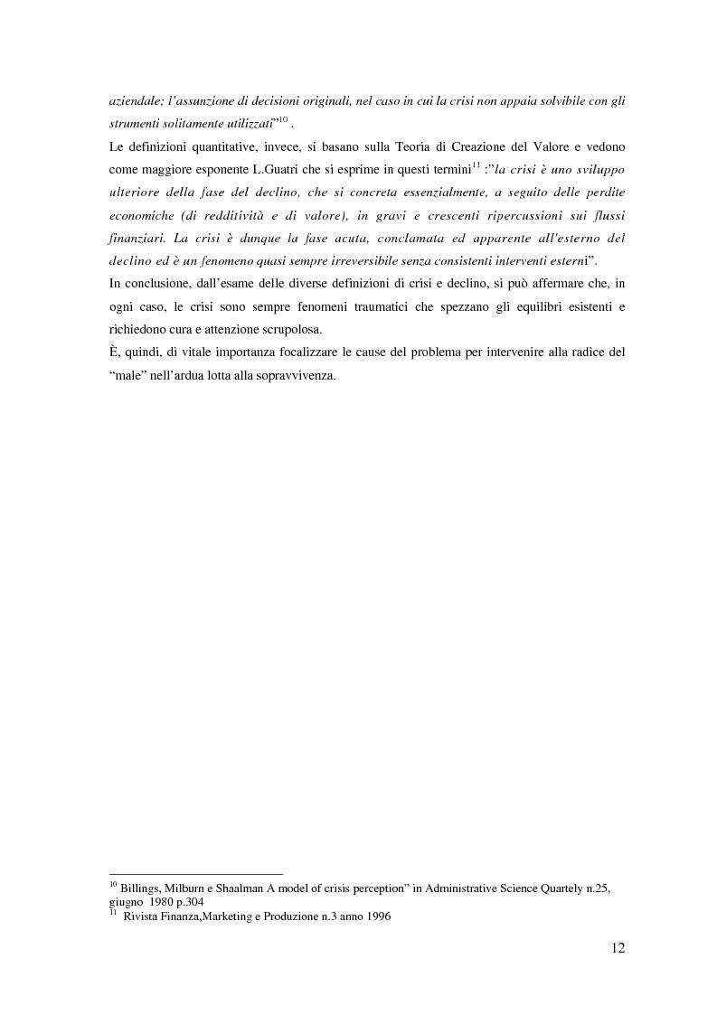 Anteprima della tesi: Fenomeni di crisi e ristrutturazione nel settore aereo: il caso Alitalia, Pagina 7