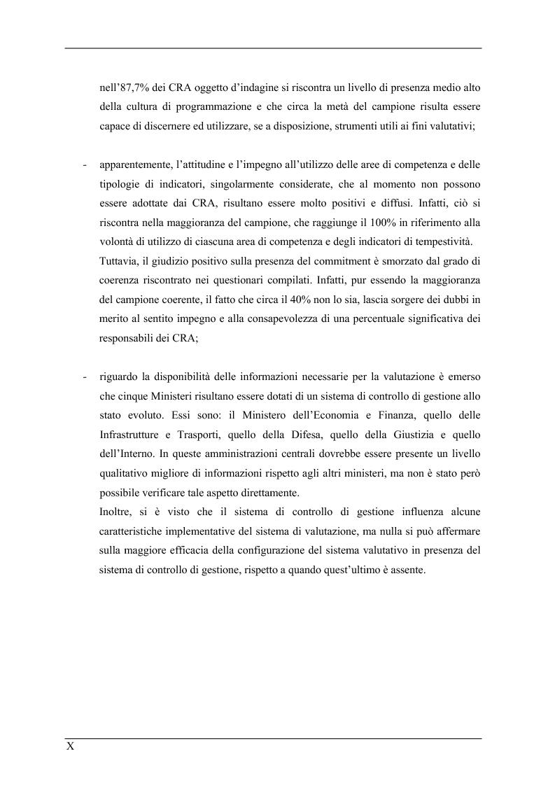 Anteprima della tesi: La valutazione delle prestazioni dei dirigenti nei Ministeri italiani, Pagina 10