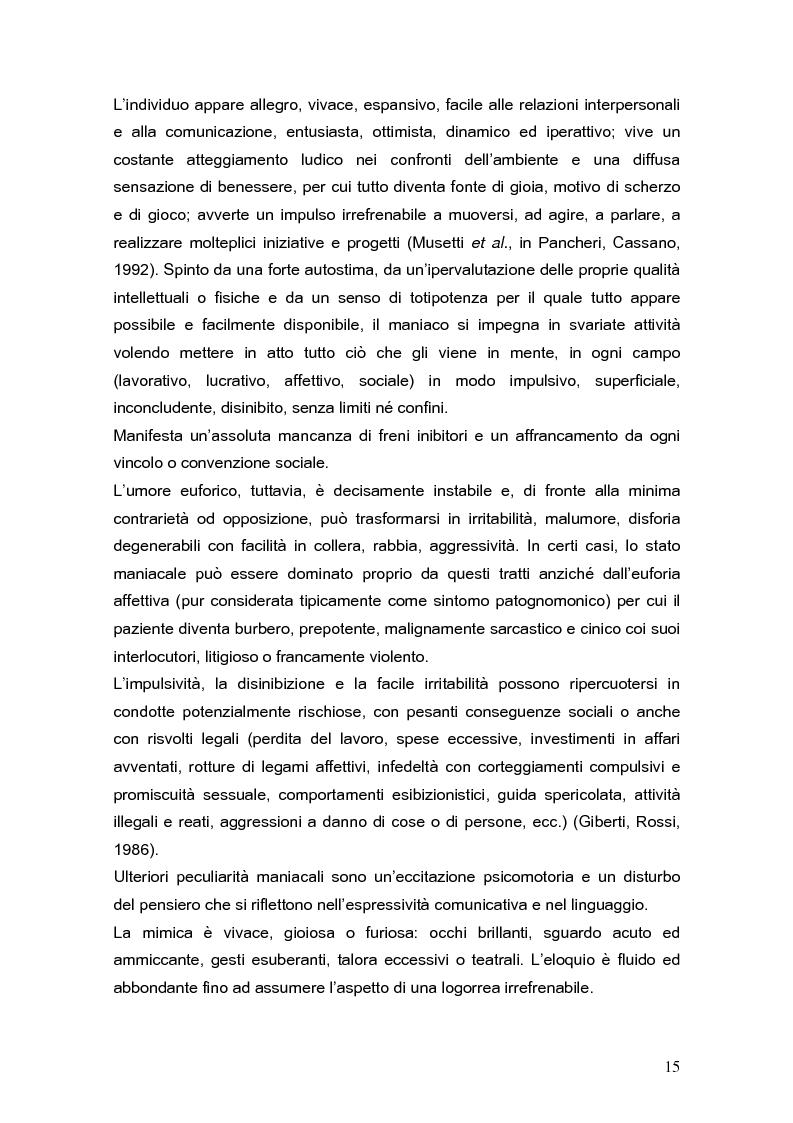 Anteprima della tesi: Psicodinamica della depressione post-partum: uno studio sulla prevalenza e sui fattori di rischio correlati, Pagina 15