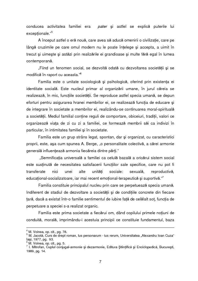 Anteprima della tesi: Evolutia, actualitatea si perspectiva institutiei familiei, Pagina 4