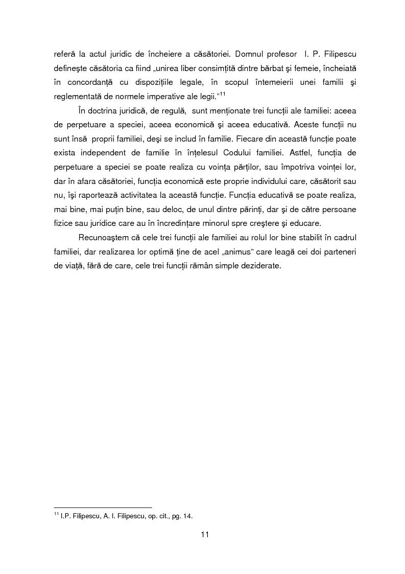 Anteprima della tesi: Evolutia, actualitatea si perspectiva institutiei familiei, Pagina 8