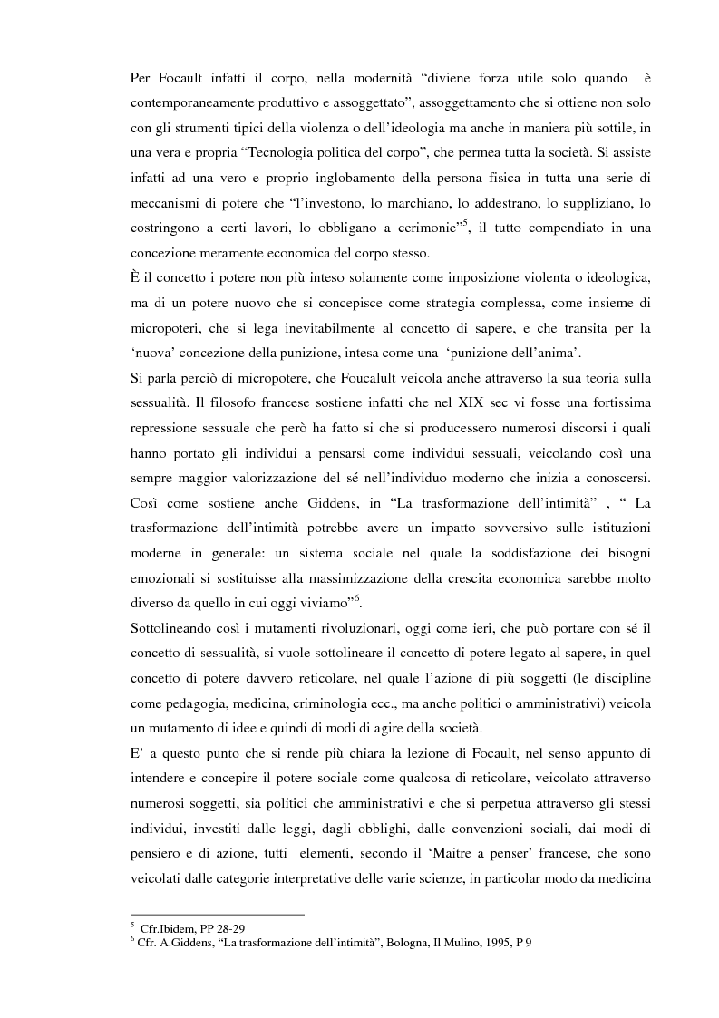 Anteprima della tesi: Società sorvegliata: i nuovi media, privacy e videosorveglianza come strumenti del controllo sociale, Pagina 6