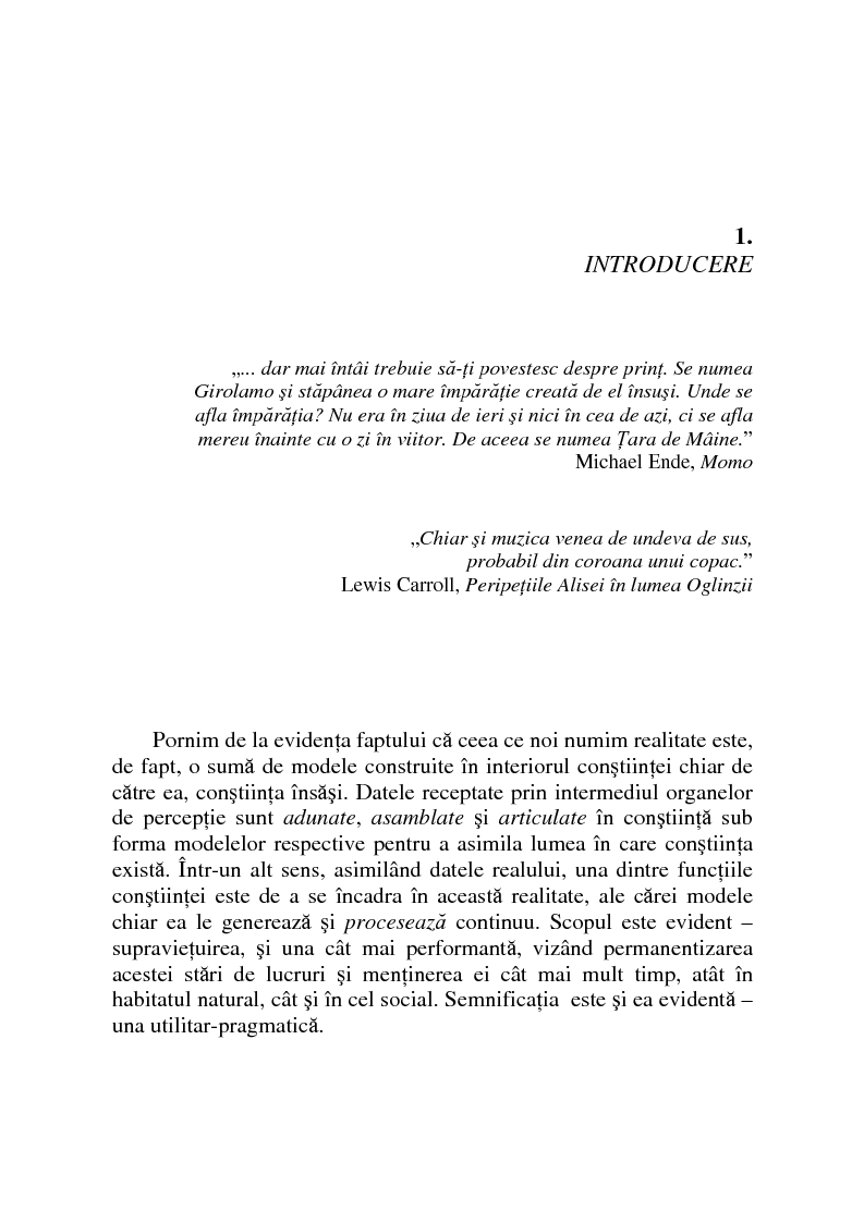Anteprima della tesi: Substanta obiectului muzical, Pagina 1