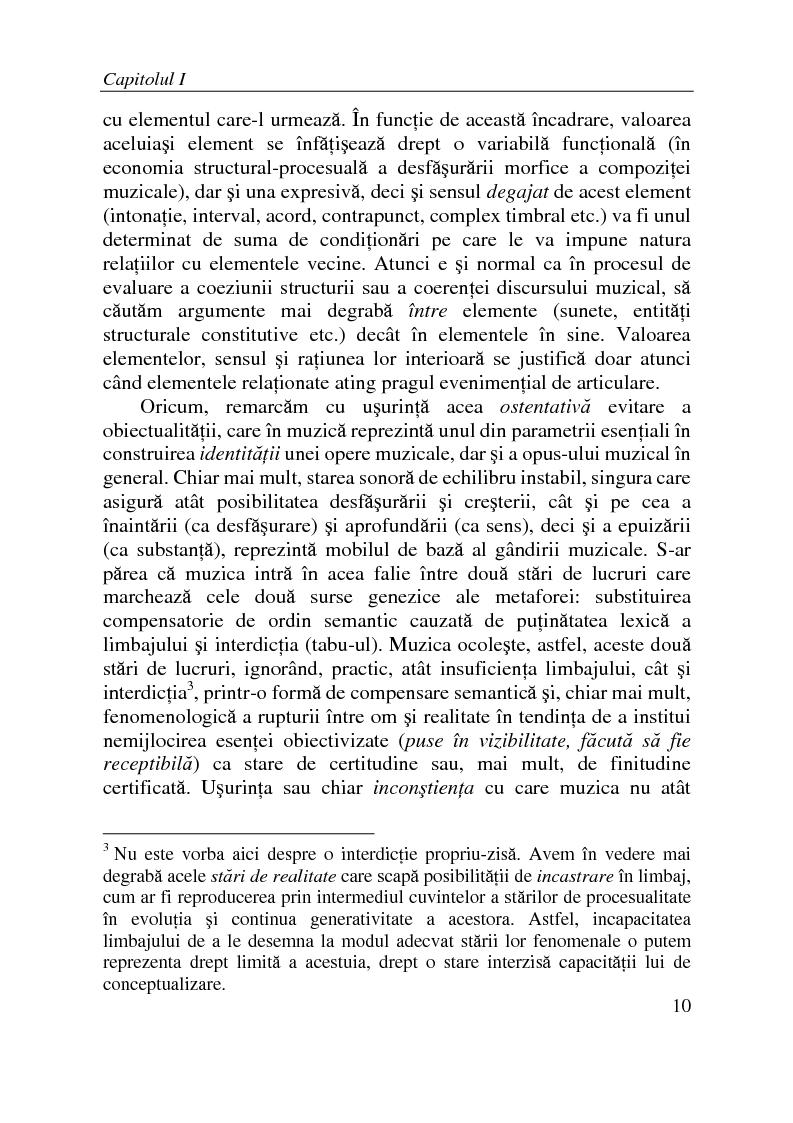 Anteprima della tesi: Substanta obiectului muzical, Pagina 5
